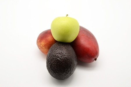 composition of fruits photo