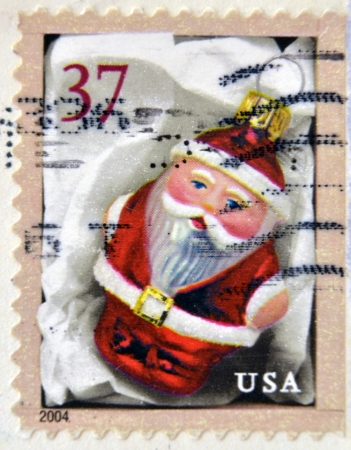 UNITED STATES OF AMERICA - CIRCA 2004: stamp printed in USA shows Holiday Ornaments, circa 2004  photo
