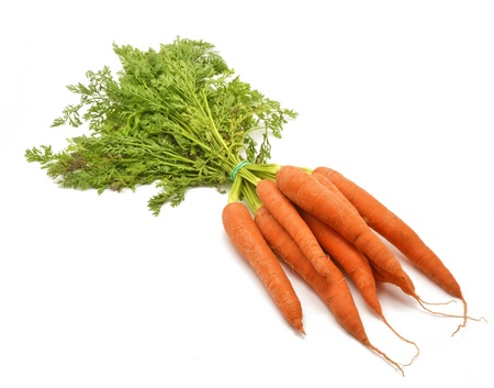 Bunch of carrots  photo