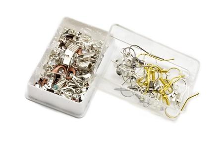 crafting: Cajas de Seguros, las articulaciones y los pendientes de metal elaboraci�n de joyas