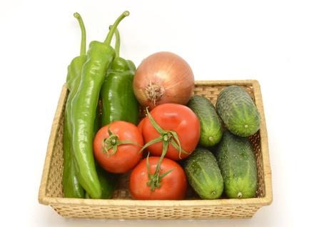 gazpacho: Vegetables, ingredients of gazpacho