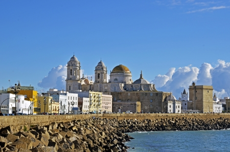 Cathedral in Cadiz, Spain