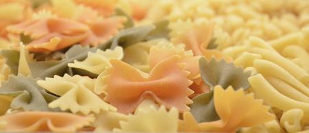loop shaped pasta photo