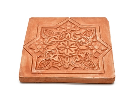 Arabic decoration, plastering Alhambra style  photo