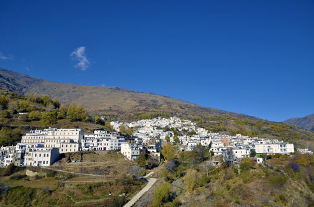 Trevelez town in Sierra Nevada, Granada photo