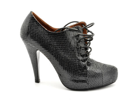 snakeskin shoes  photo