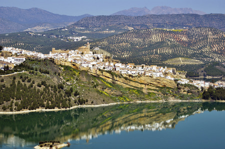 Iznajar, a white town of Cordoba photo