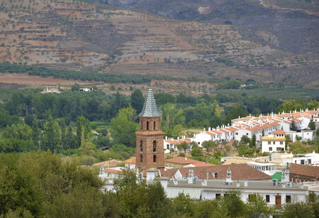 alpujarra: Fondon, small village in Almeria, Spain