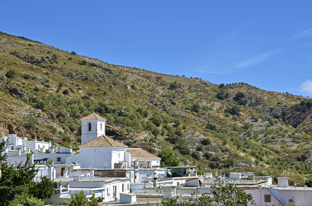 alpujarra: Notaez, small village in la alpujarra, Granada