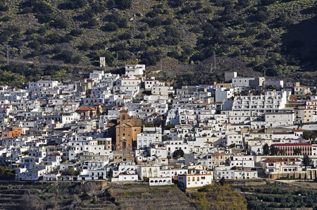 alpujarra: Ohanes, small village in Almeria, Spain Stock Photo