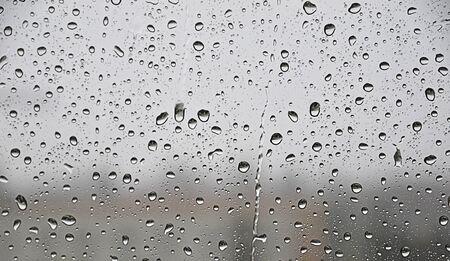 raindrops on the glass photo