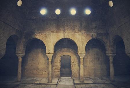 granada: Ancient Arabian baths in Granada