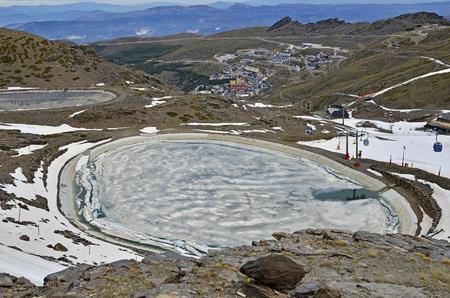 nevada: Pradollano in Sierra Nevada, Spain