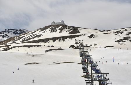 nevada: Sierra Nevada, Granada, Spain Editorial