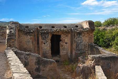 remains: remains of Arab baths, Alpujarra