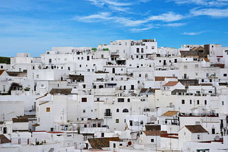 touristic: Vejer de la Frontera, Cadiz Stock Photo
