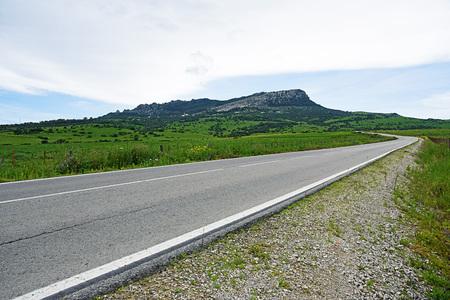 beach access: Access road to the beach of Bologna, Tarifa, Cadiz province