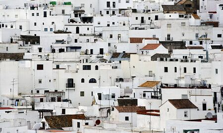 Vejer de la Frontera, Cadiz Stock Photo