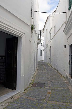 jewry: street in the neighborhood of the Jewry of Vejer de la Frontera, Cadiz