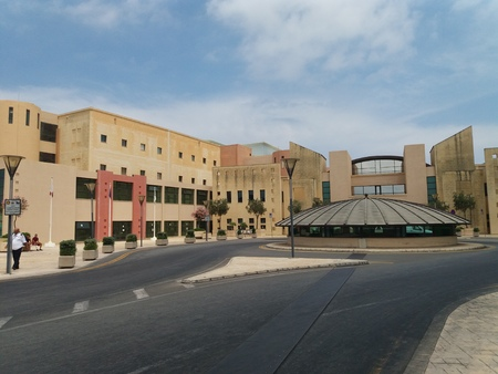 17.07.2017. Mater Dei hospital building front entrance new hospital building Editorial