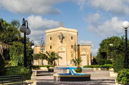 BURMARRAD, MALTA ,15 DECEMBER 2018 - Qalb Mqaddsa ta Marija - Immaculate Heart of Mary - Parish church