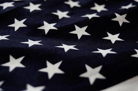 close up of usa flag - memorial day
