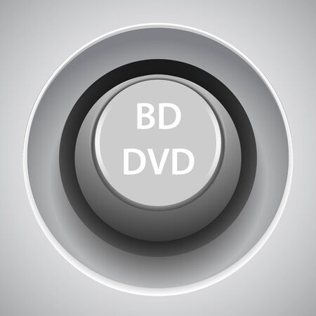 Web button with 3d effect