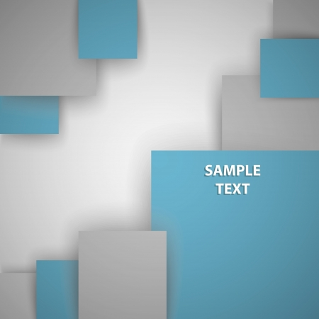 Squares with place for text Stock Vector - 16937796