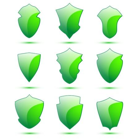 Shield set for web sites