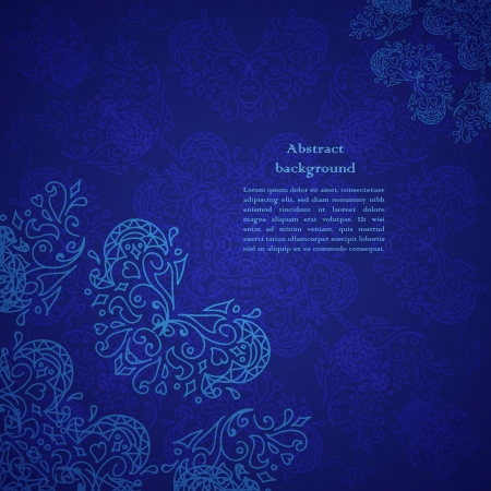 abstract flower background. Your presentation Illustration