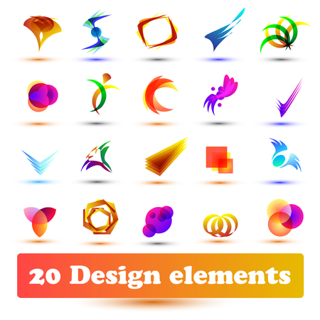 Set design elements. Use for web or business