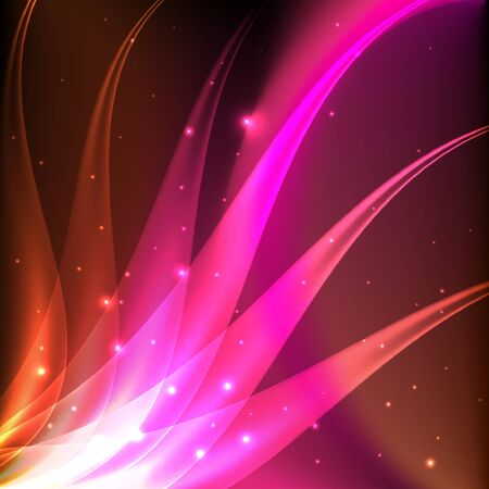 Shiny pink abstract background