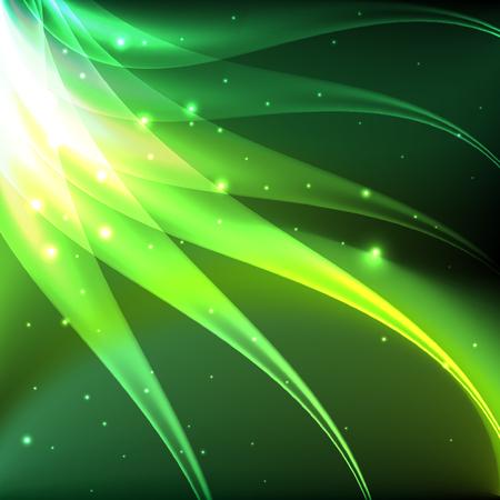 shiny background: Shiny green abstract background