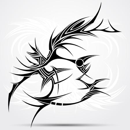 Tattoo tribal Illustration