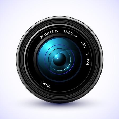 Photographie fond, lentille appareil photo avec flare