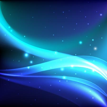 shiny background: Shiny night background. Vector illustration Illustration