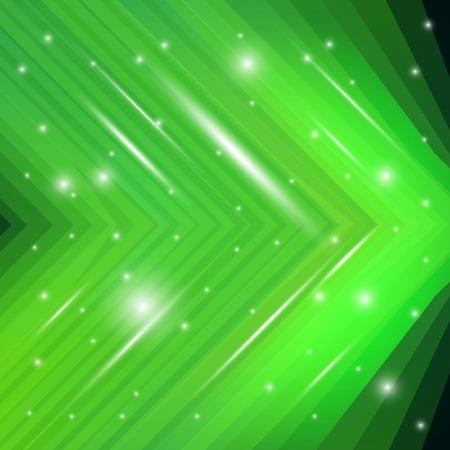 Green background. Vector illustration for business presentation
