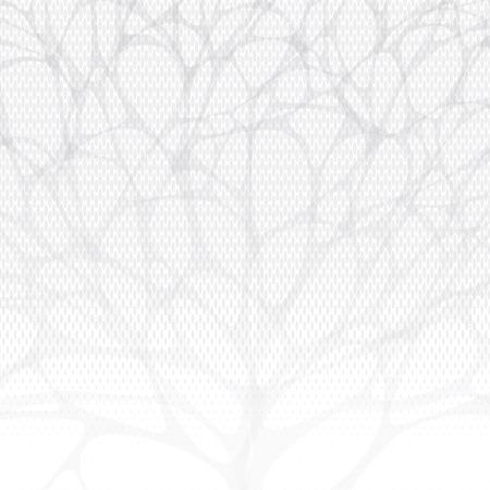 white background tree