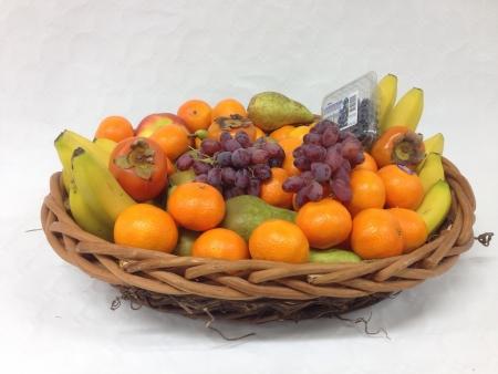 fruitmand: Grote Fruitmand Stockfoto