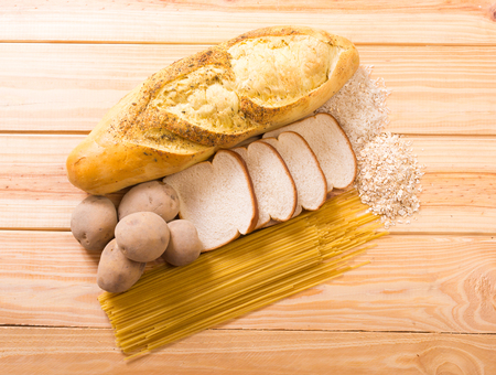 carbohydrates Stock Photo