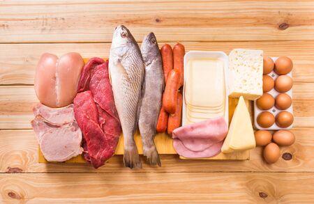 Food, Proteins 版權商用圖片 - 56556290