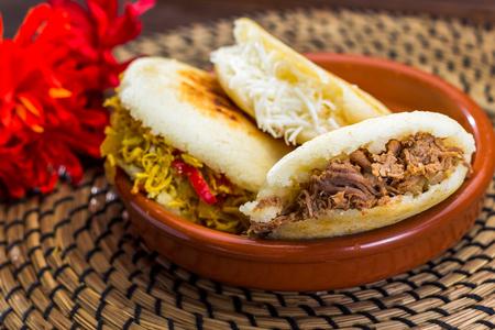 Venezuelan typical food, Arepa 版權商用圖片 - 74483575