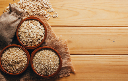 Geheel voedsel, Quinoa-haver en rijst