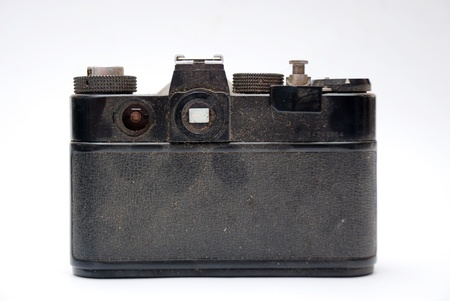 Old analog photo camera photo