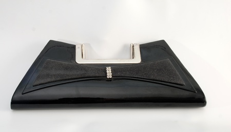blacxk woman bag photo
