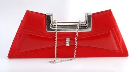 red woman bag photo