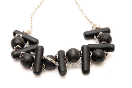 corall: necklace Stock Photo