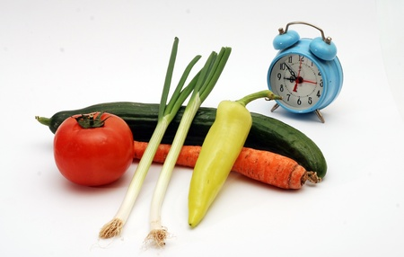 Time for diet and health photo