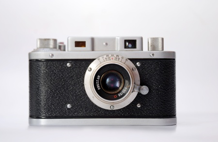 Vintage Analog-Kamera Lizenzfreie Bilder