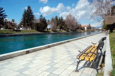 river drim, lake ohrid, city of struga,macedonia